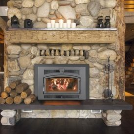 Lopi Large Flush Wood Hybrid Fyre Craftsman Fireplaces By Travis Industries Inc Www Cleansweepfireplace