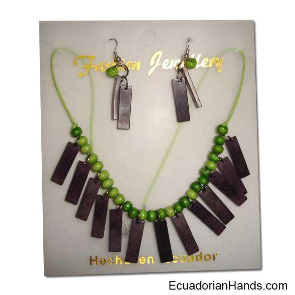 1st class Beaded Tagua Jewelry, Assorted, Dozen  #EcuadorianHands #tagua