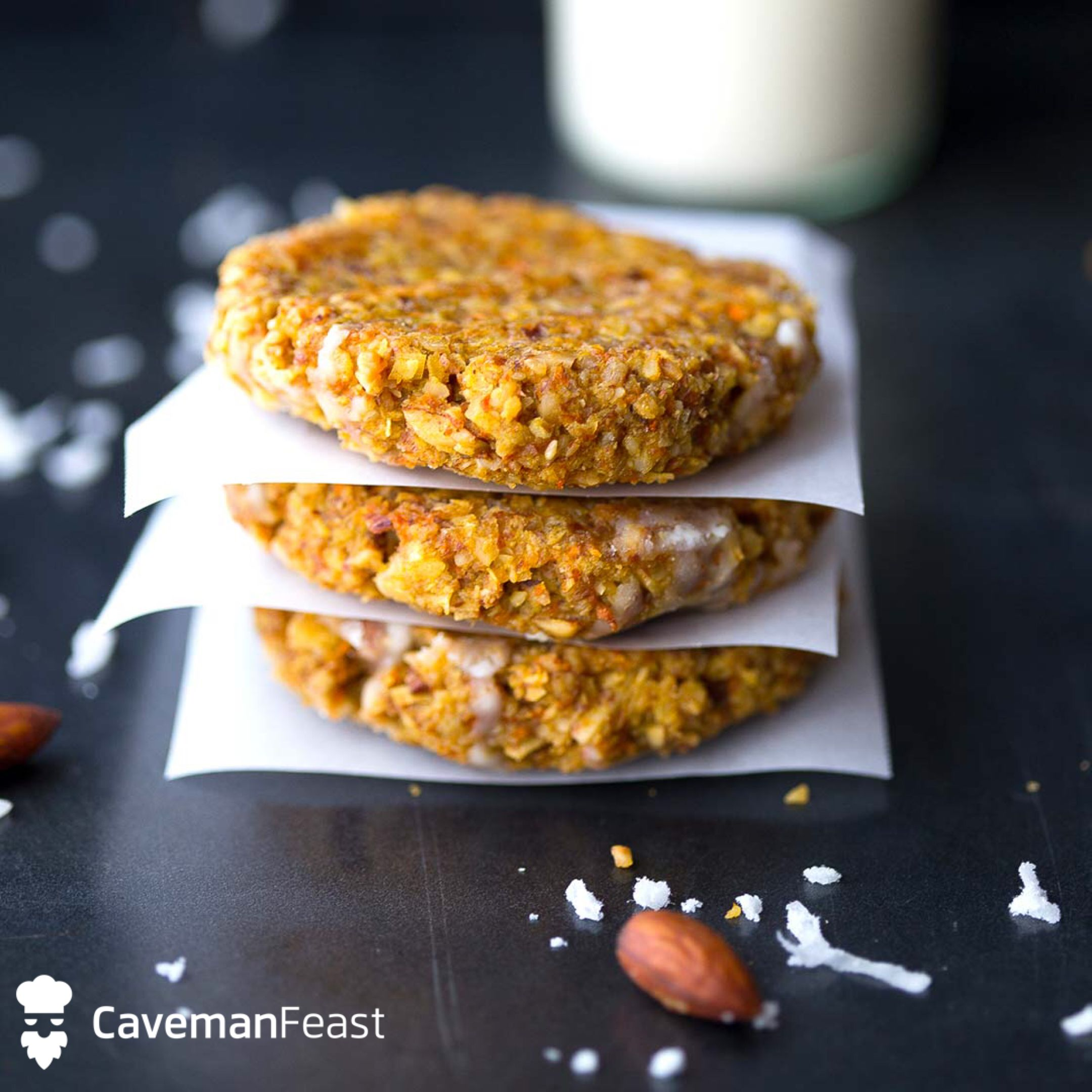 Carrot cake cookies whole 30 civilized caveman