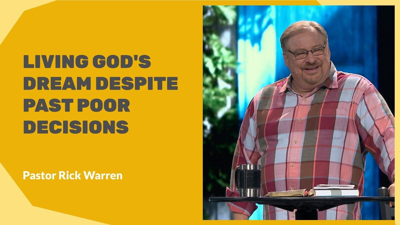 how to hear god's voice rick warren