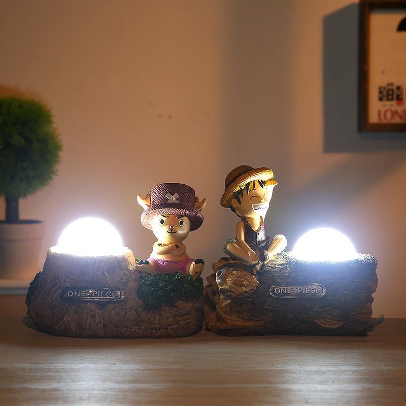 Monkey d luffytony chopper led night light