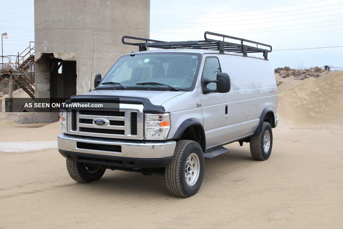 Quigley 2012 Ford E 350 Duty 4x4 Cargo Van E Series Van Photo