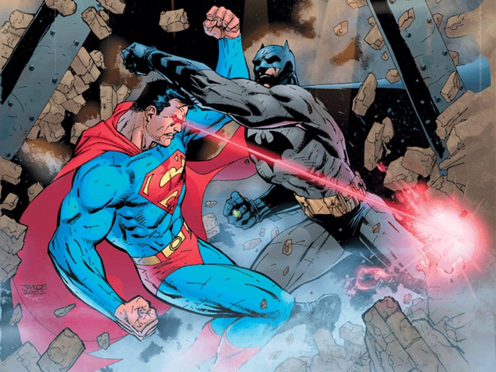 Comics Wallpaper Superman Vs Batman