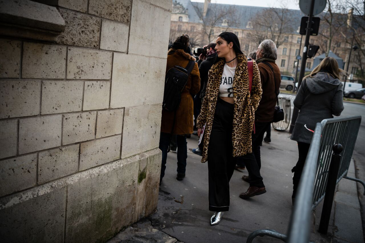 The best street style looks from Paris' spring 2017 couture fashion week.