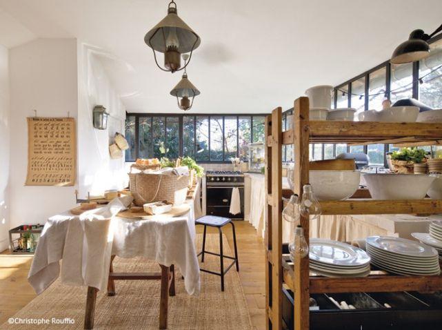 Deco Campagne Deco Recup Cuisine KITCHEN Pinterest Deco - Decoration cuisine campagne pour idees de deco de cuisine