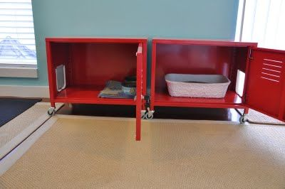 Ikea ps lockers hacked for litter box so cool can t forget the