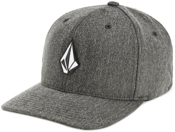 23e3cc7c8 Volcom Men Flex-Fit Heathered Logo Hat | Products | Hats, Flex fit ...