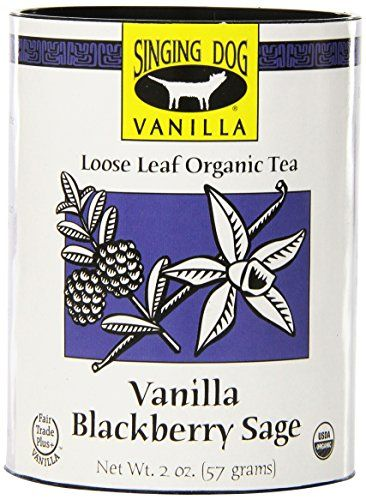 Singing Dog Vanilla Organic Tea, Blackberry Sage, 2 Ounce *** You can find out more details at the link of the image.