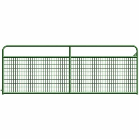 Wire Filled Gate 12 Ft Tractor Supply Co Tractor Supplies Farm Gate Farm Fence Gate