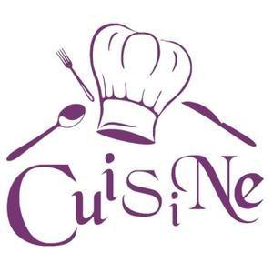 Purple Créative Stickers Muraux Pour Cuisine Décoration à La Maison