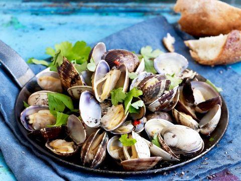 Heerlijke combinatie van pasta met zeevruchten