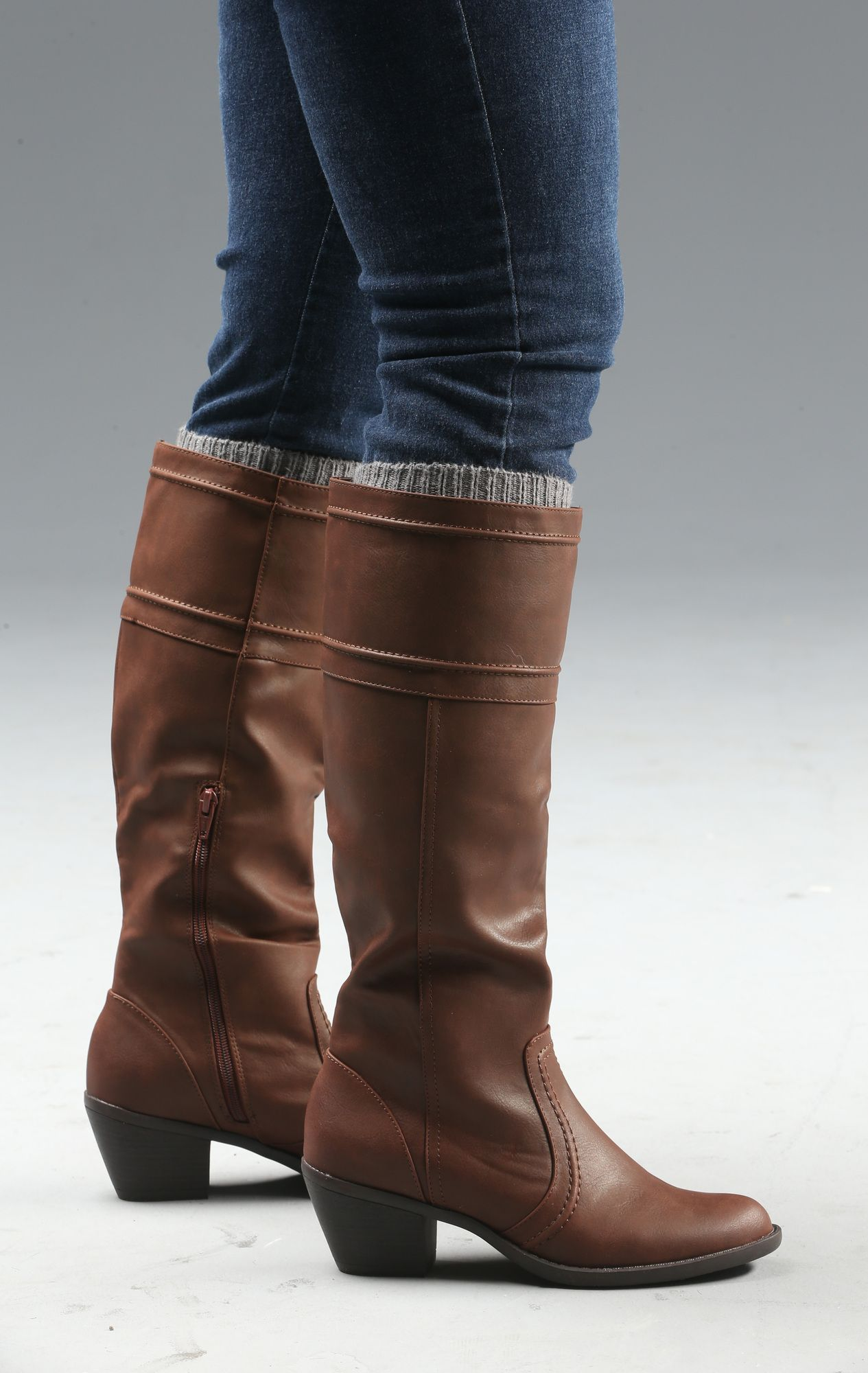 86e2d3e333d6 Tall boots  Short boots  Don t leave the house without picking an outfit  that flatters what s on your feet.