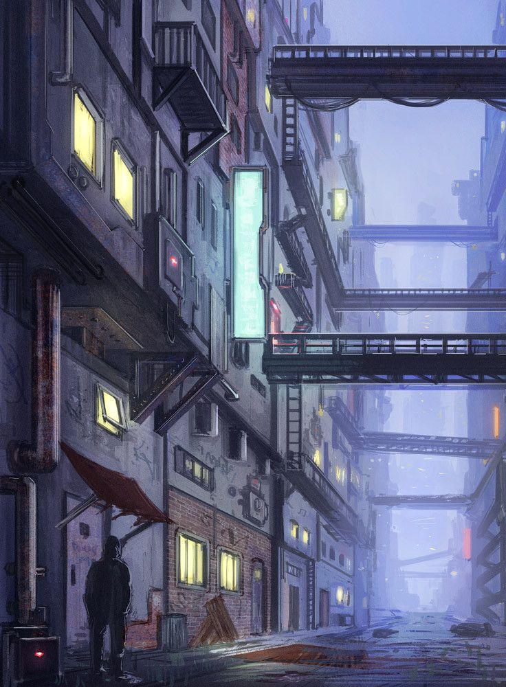 Futuristic Slum 01