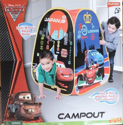 Special Offers - Disney Cars C&out Playhut Tent with Port Hole EZ Twist Fold Down - & Special Offers - Disney Cars Campout Playhut Tent with Port Hole ...