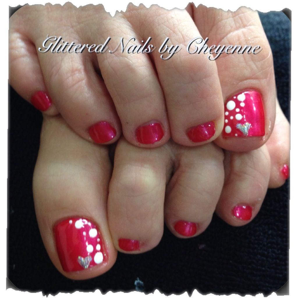 Red Nail Art: 1000+ Ideas About Red Pedicure On Pinterest