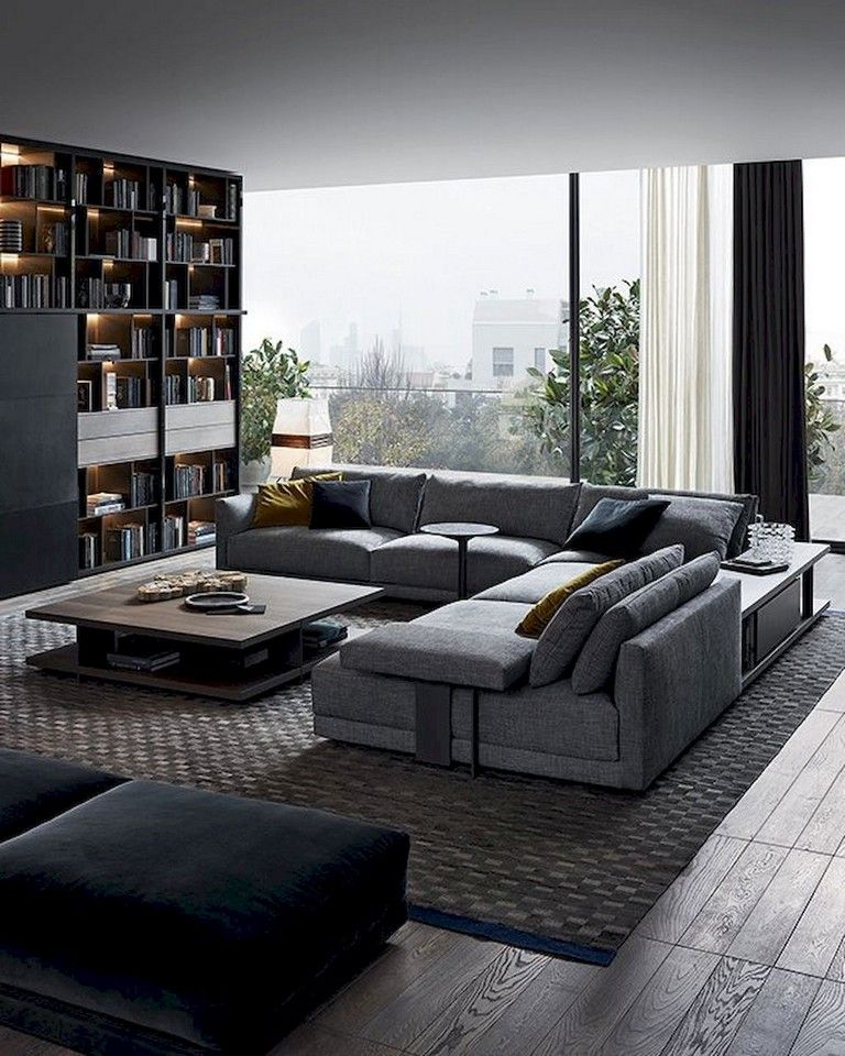 Corner Showcase Designs For Living Room: 65 PRETTY AND COMFORT MODERN CORNER SOFA FOR LIVING ROOM