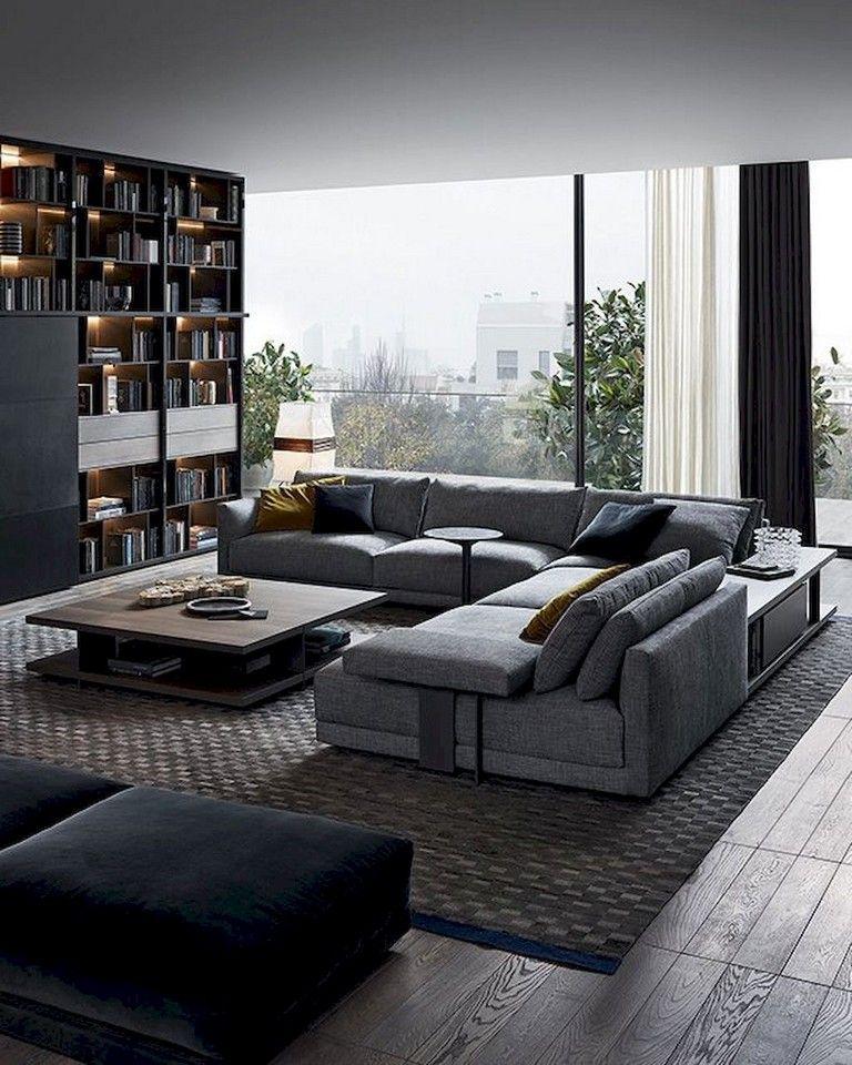 65 Pretty And Comfort Modern Corner Sofa For Living Room