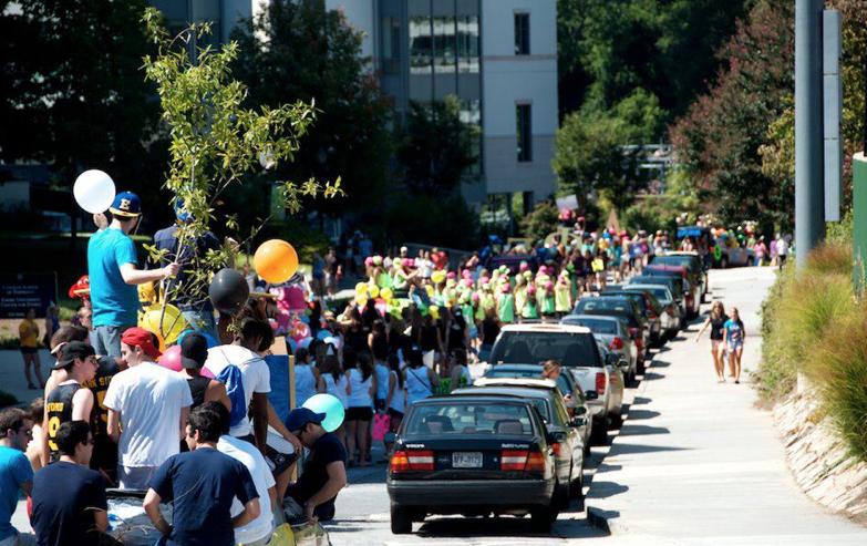 Emory Homecoming Parade 2011