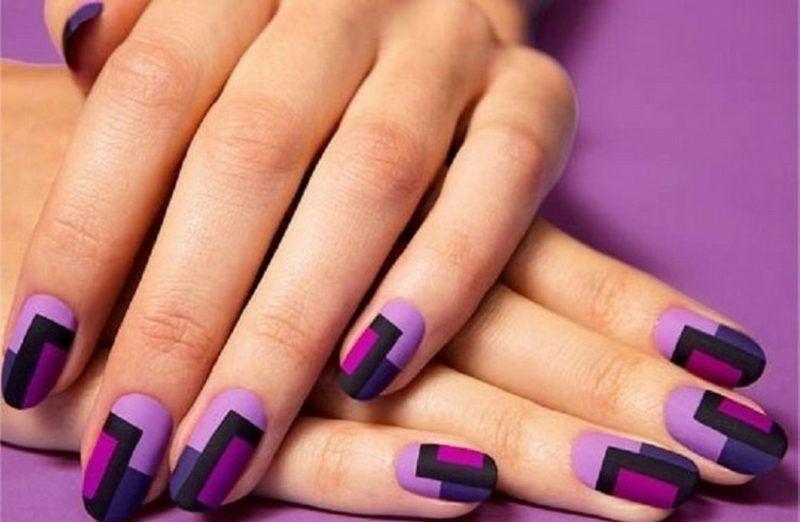 Nageldesign Violett Nageldesign Violett Nageldesign Pinterest