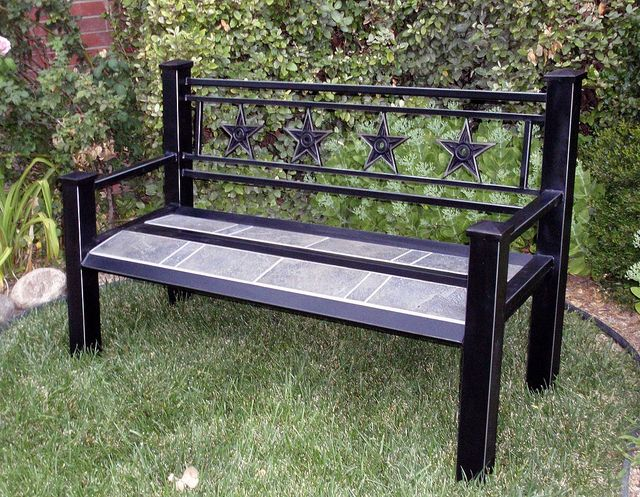 Bench, by M  Churchwell is part of Welding projects, Welding, Welding bench, Diy welding, Metal projects, Welding classes - projects