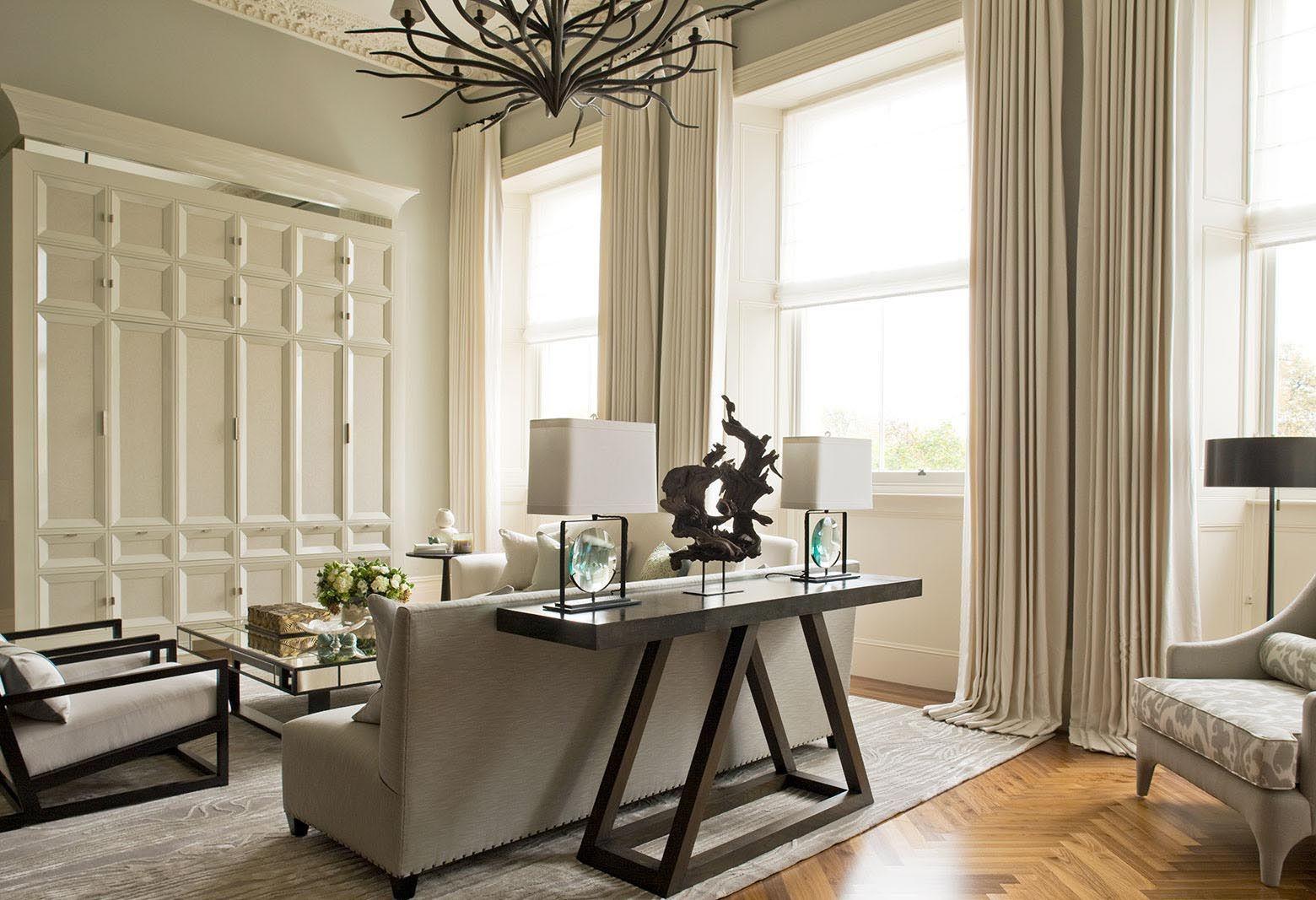 The Lancasters Duplex Apartment Living Room Interior
