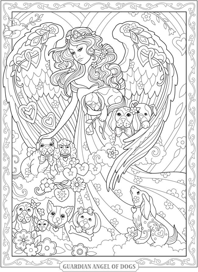 Welcome to Dover Publications | Hojas para Colorear Adultos ...
