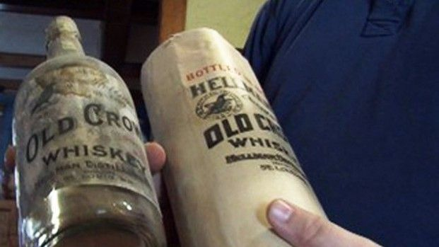 Century Old Whiskey Found In Attic Oldest Whiskey Make Beer At Home Whiskey Bottle