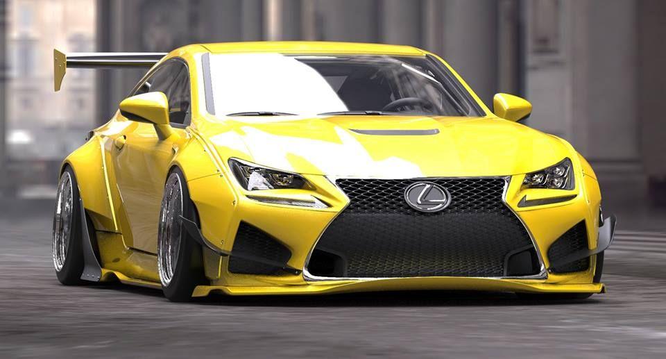 Lexus Rc Rocket Bunny At Sema Racingfriday Every Week At