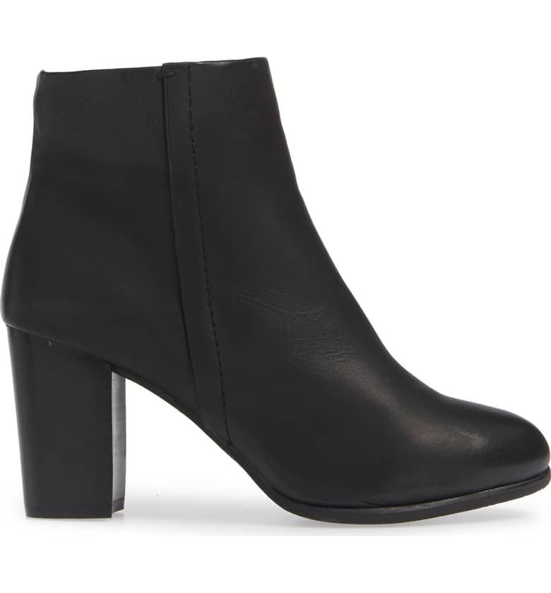 f45452b9152 VIONIC Kennedy Ankle Bootie, Alternate, color, BLACK LEATHER ...