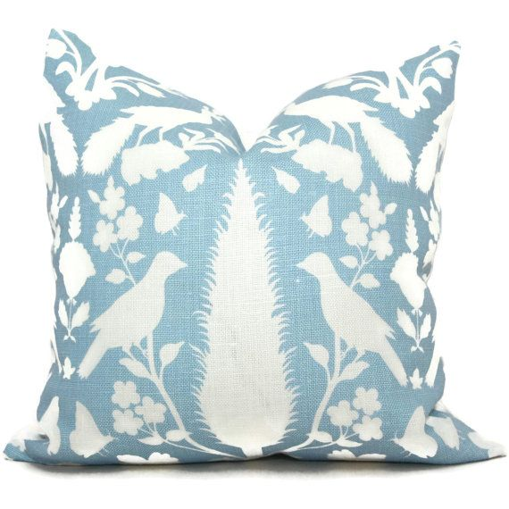 22X22 Pillow Insert Fair Add A Pop O Blue To You Room With This Linen Pillow Coverusing Design Inspiration