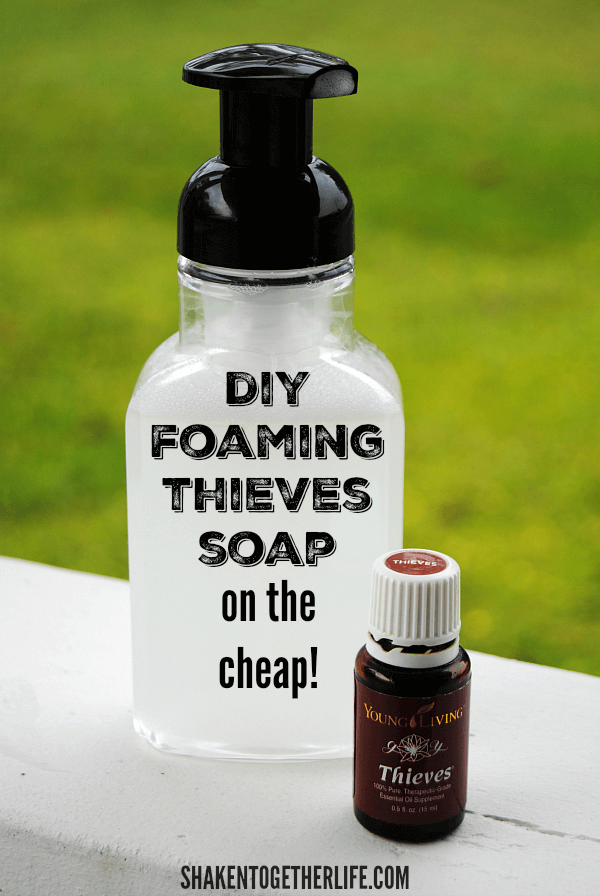 DIY Foaming Thieves Hand Soap on the Cheap! Soap