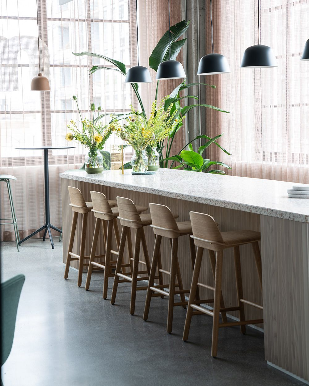 Vibrant and modern office space decor inspiration from Muuto With ...
