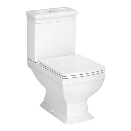 Rydal Traditional Toilet + Soft Close Seat