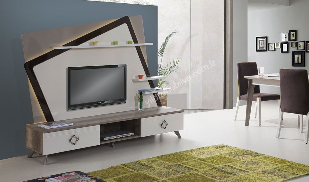 harmony tv unitesi farkli ve siradisi tv mobilya yildizmobilya pinterest http www yildizmobilya c living room decor apartment tv unit design tv wall unit