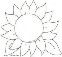 Image result for sunflower template | Artwork | Pinterest