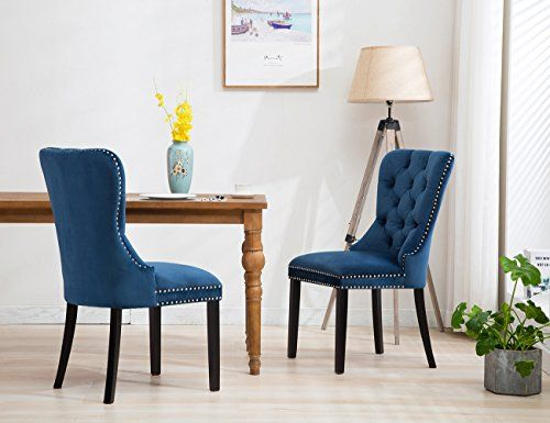 Upholstery Chair \u2013 Elegant Tufted Upholstered Dining Chairs, Retro