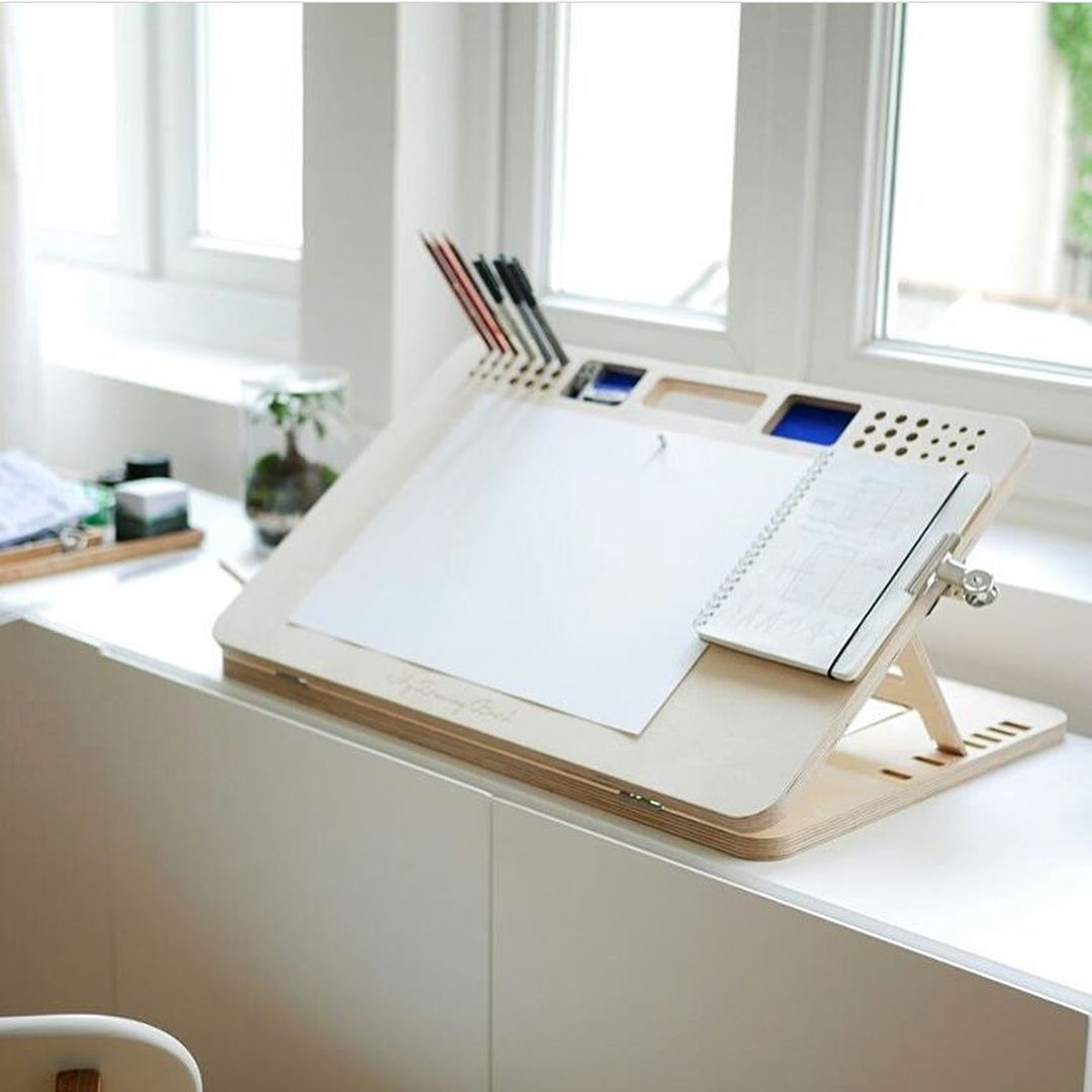 Who Else Could Use A Drawingboard Like This One On Their Desk