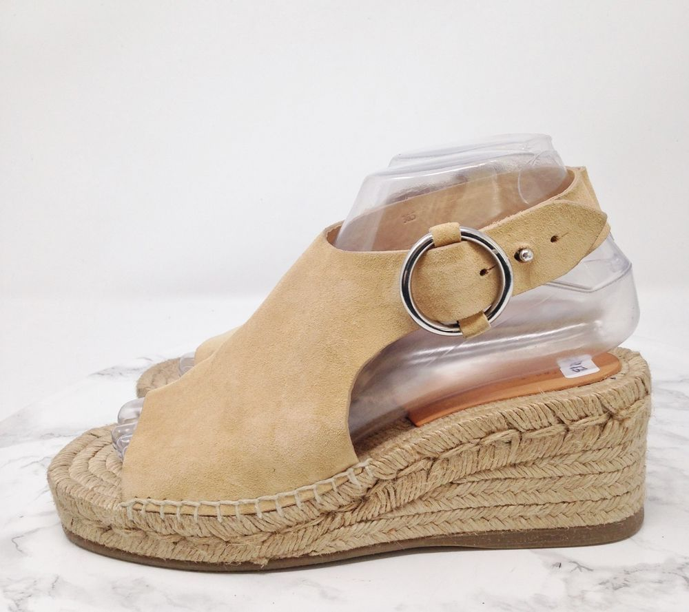 8bf541912c5 Rag   Bone Calla Beige Suede Espadrille Wedge Sandals Open Toe Size EUR  36.5  fashion  clothing  shoes  accessories  womensshoes  sandals (ebay  link)