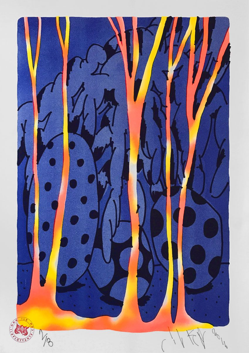 Ilk — Blue forest — shop.ilkflottante.com