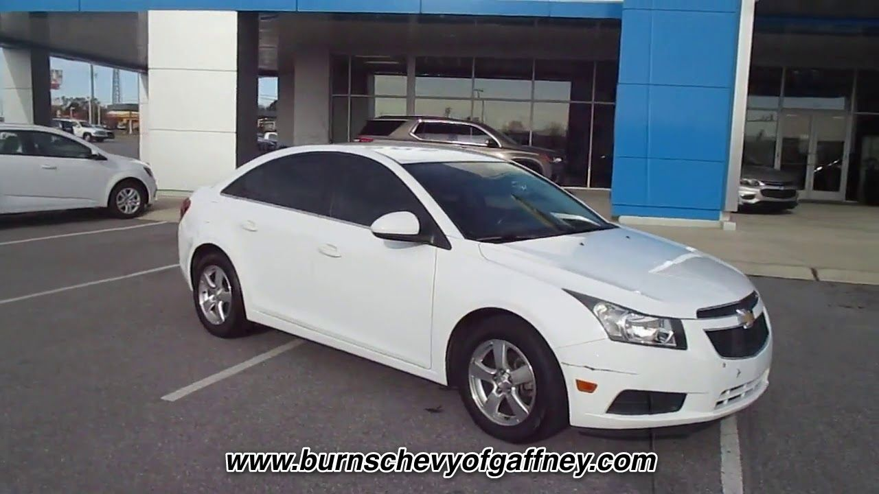 Used 2013 Chevrolet Cruze 1lt At Burns Chevrolet Of Gaffney Used