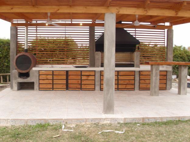 Quinchos rusticos buscar con google outdoor kitchens pinterest barbacoa patios and kitchens - Tipos de barbacoas ...
