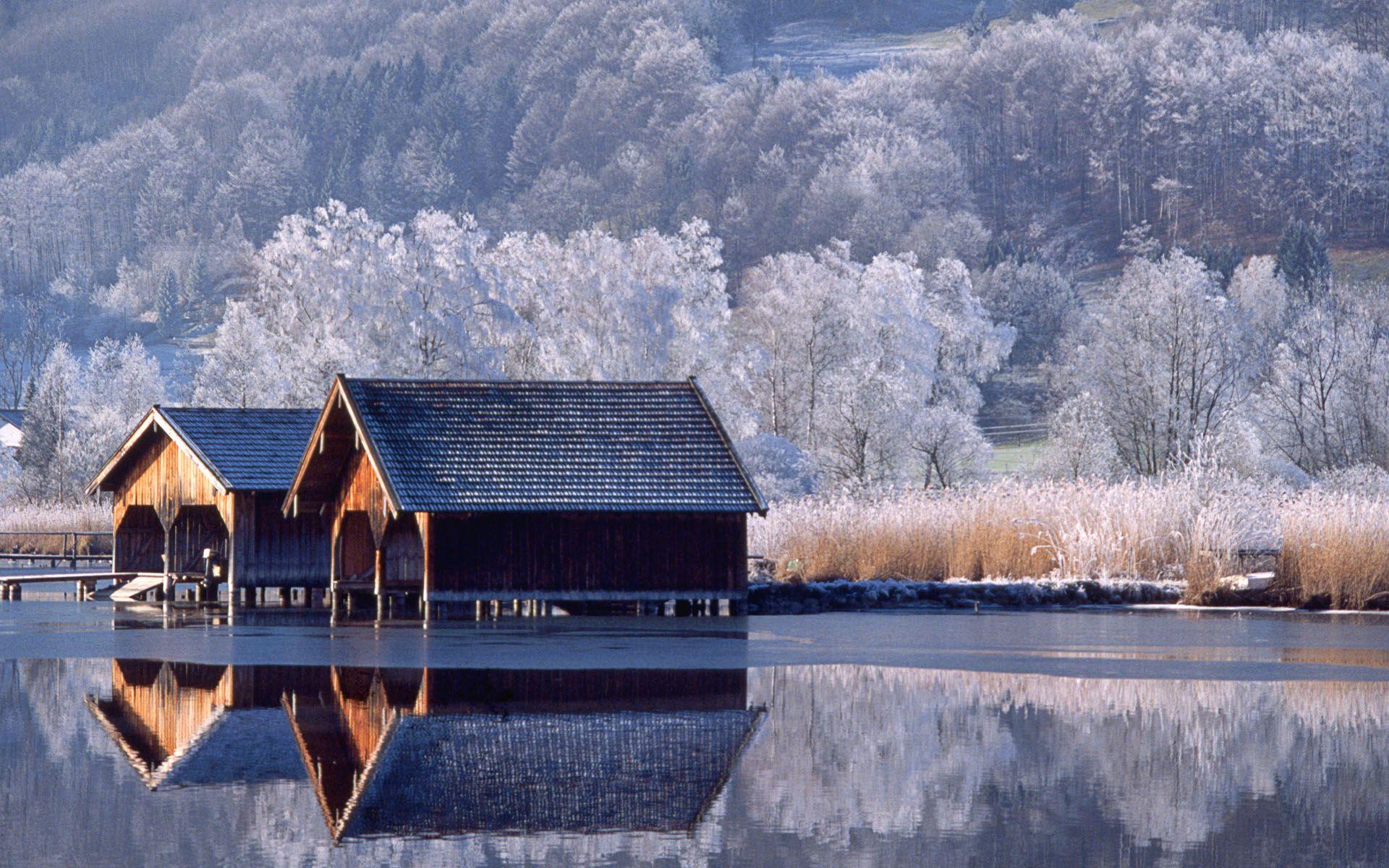 57 Of Many Winter Wallpaper Winter Scenery Winter Wallpaper Desktop