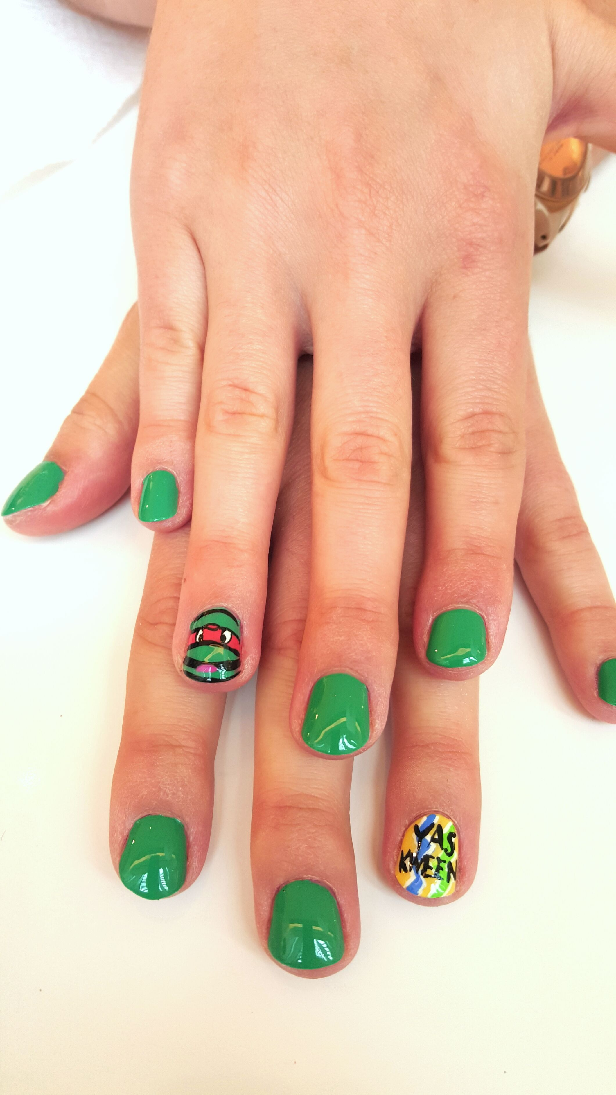 6 Creative Ways to Nick-ify Your Easter Eggs | Turtle nail art ...