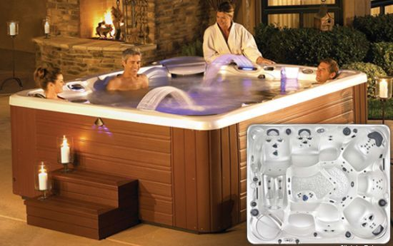 hot tubs pictures | 10 high-tech hot tubs to delight your senses