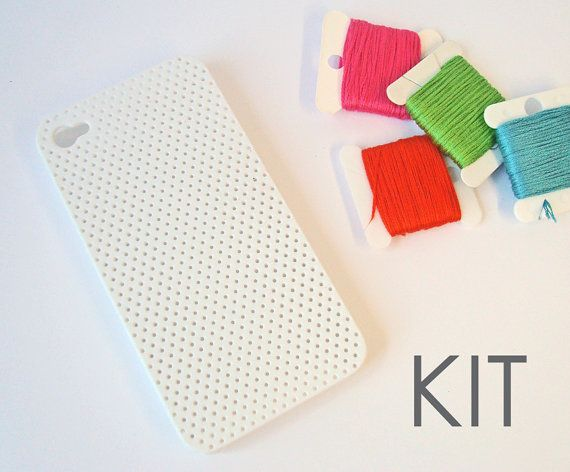 Needlepoint Phone Case Kit 33 Unexpected Gifts For Everyone In Your Life I Wonder If I Could Actually Make One Of These Diy Kits Diy Phone Case Case