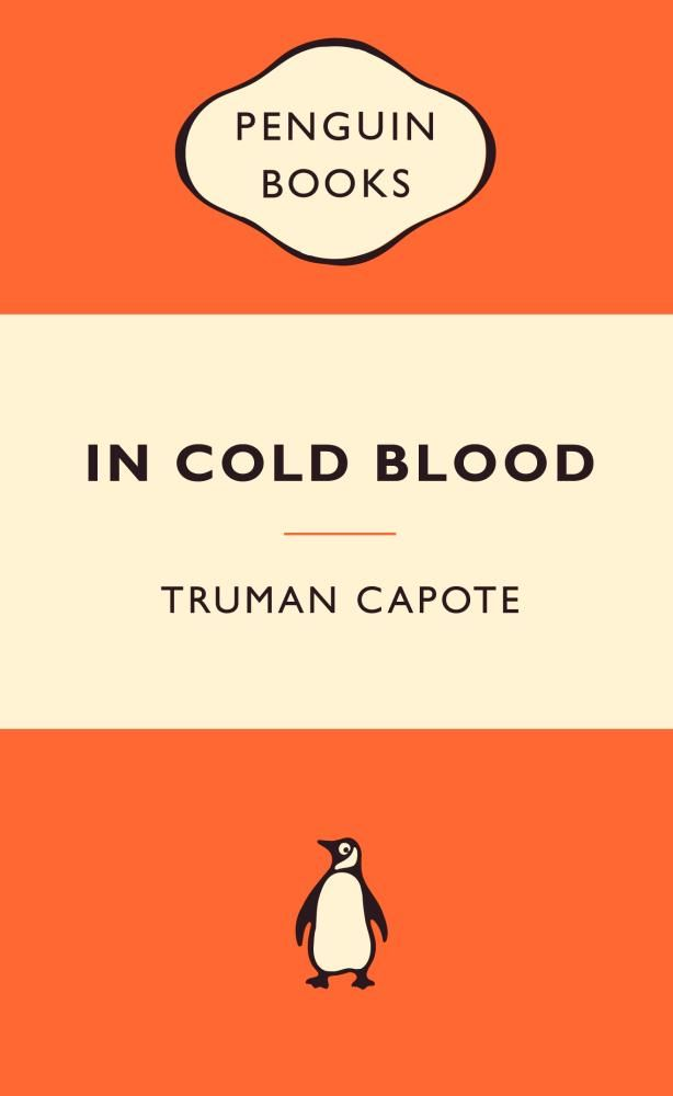 In Cold Blood Original Cover