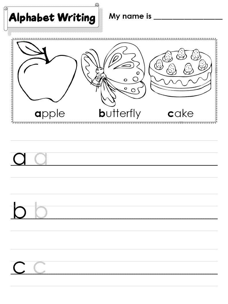 42 Abc Learning Sheets Abc Worksheets Alphabet Worksheets Free Learning Abc [ 1057 x 794 Pixel ]