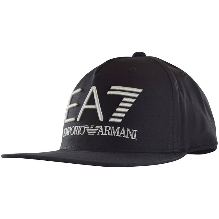 2adfb1ab4a Emporio Armani EA7 Black Logo Snapback Cap | THINGS TO WEAR! in 2019 ...