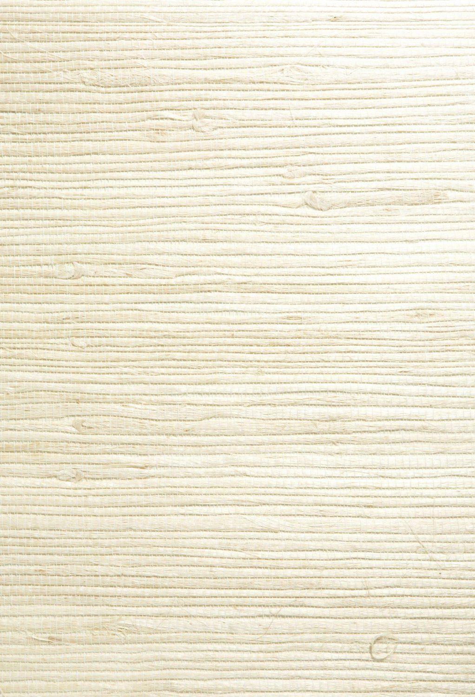James 6354725 Shuang Grass Cloth Wallpaper, Cream
