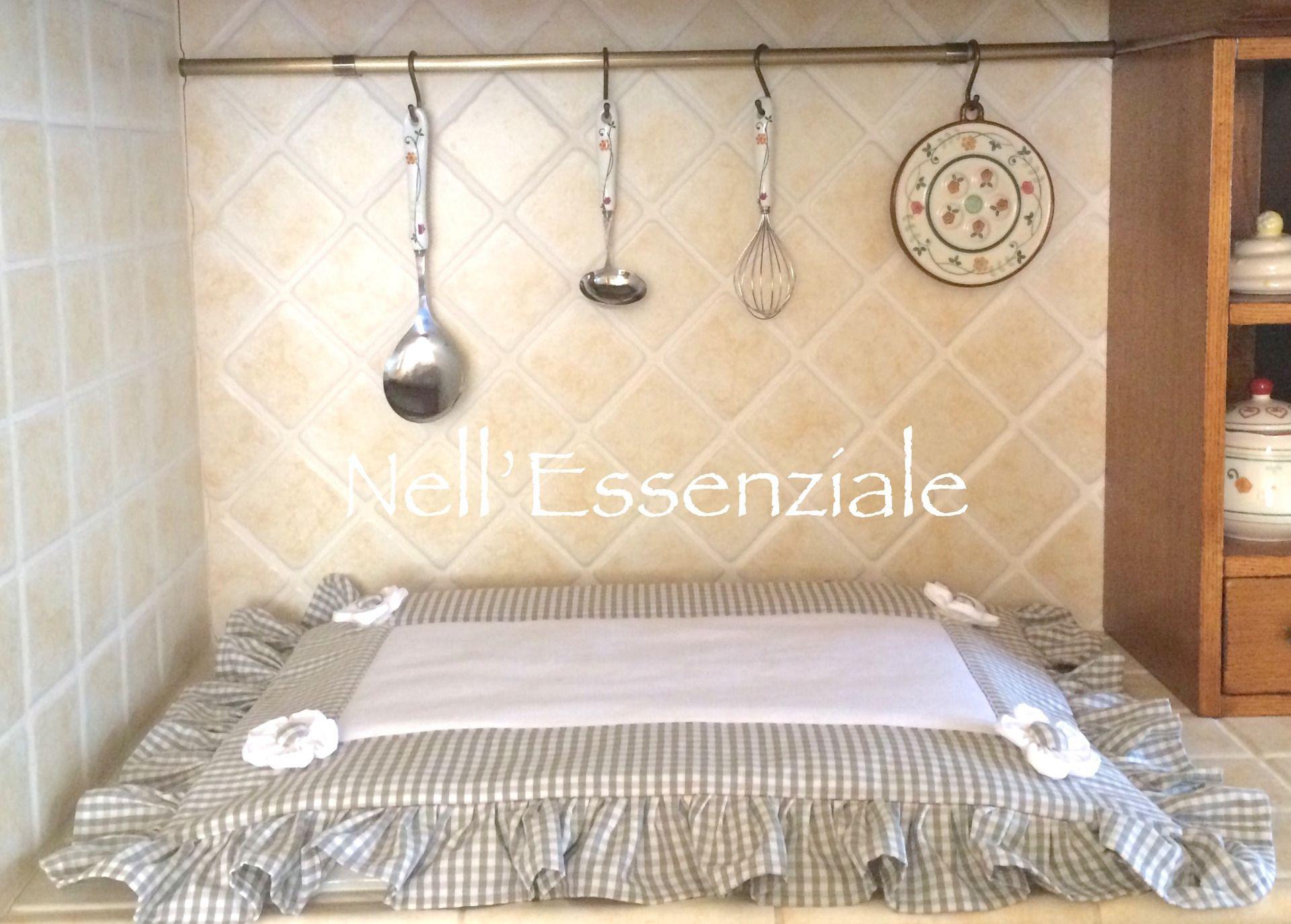 Copri Fornelli Shabby chic Grigio : Accessori casa di creativelife ...